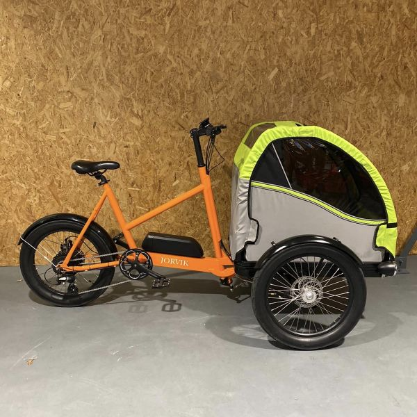 Jorvik Electric Child Carrier Tricycle Orange 250w - Save £200!