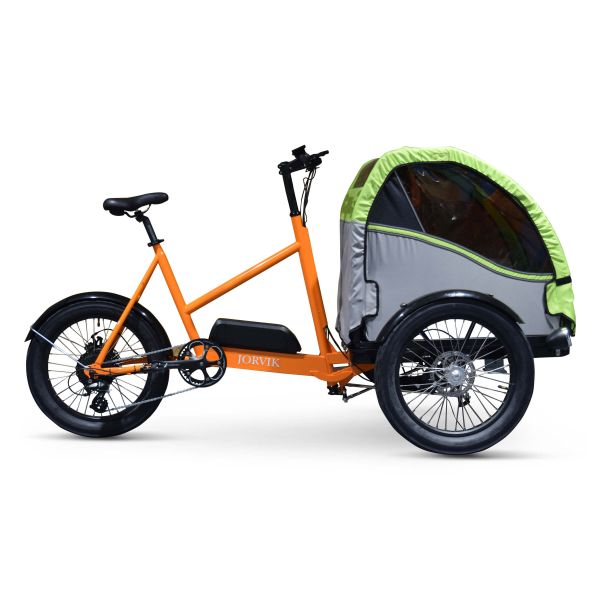 Jorvik Electric Child Carrier Tricycle
