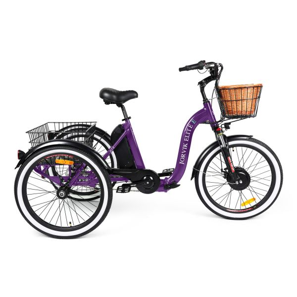Jorvik Elite Low Step Through Electric Folding Tricycle JET-E