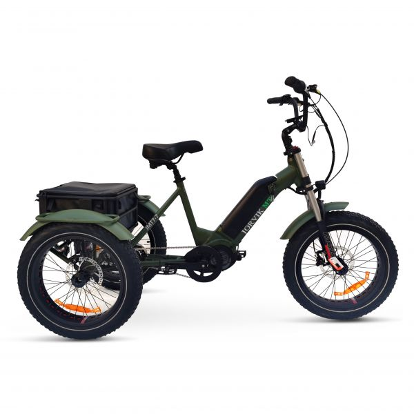 Jorvik Mid Drive Electric Mountain Trike JMT7 (250W)
