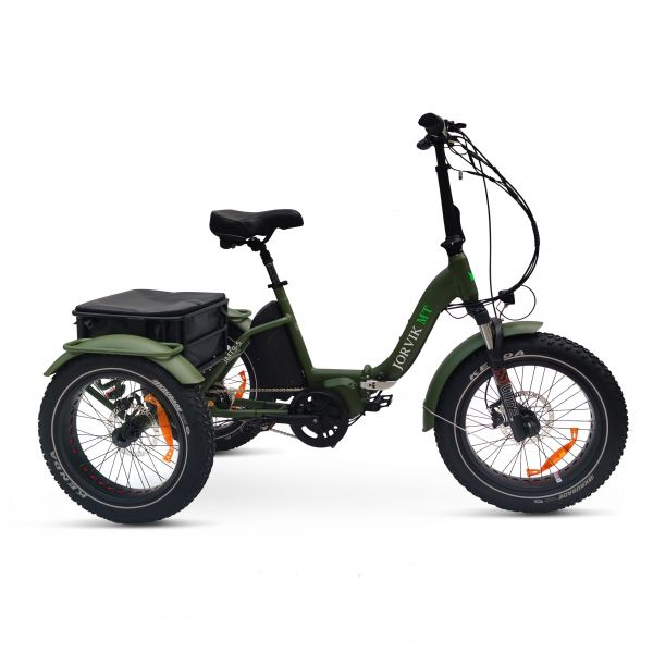 Jorvik Mid Drive Folding Electric Mountain Trike JMT9 (500w)