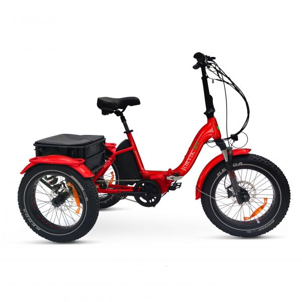 Jorvik Mid Drive Folding Electric Mountain Trike JMT9 (250w)