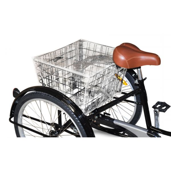Jorvik Rear Basket Rain Cover