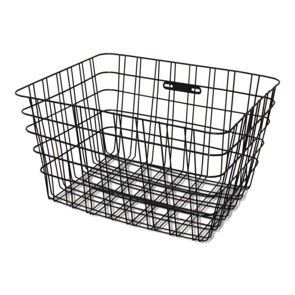 Large Rear Rigid Wire Tricycle Basket – Available In Black Or White