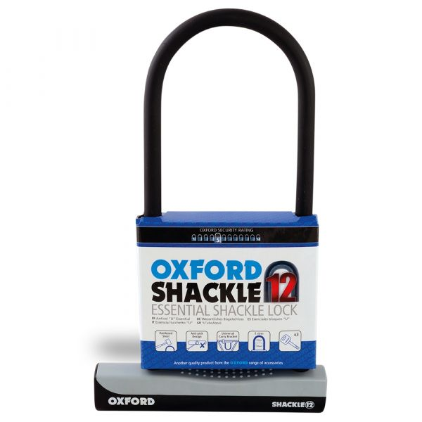 Oxford Shackle12 Large 310mm x 190mm D-LOCK