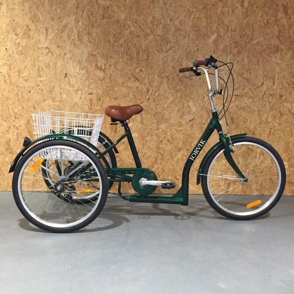 24″ Low Step Through Tricycle Green (Free Delivery - Fully Assembled!) - Save £185!