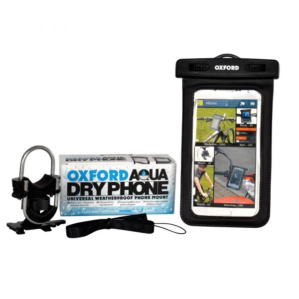 Oxford AQUA Dry Phone – Weatherproof Phone Mount