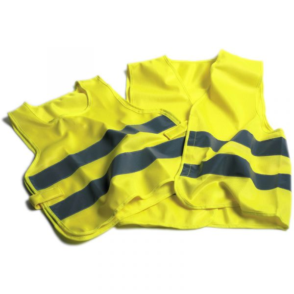 Oxford Hi Visibility Vest - Yellow
