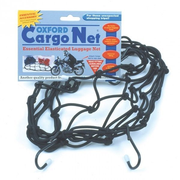 Oxford Cargo Net – Black