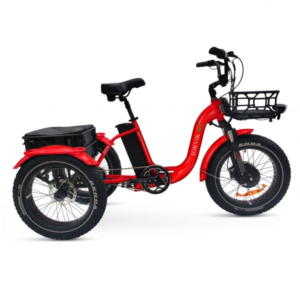 Jorvik Low Step Through Electric Mountain Trike JMT6 (250W)