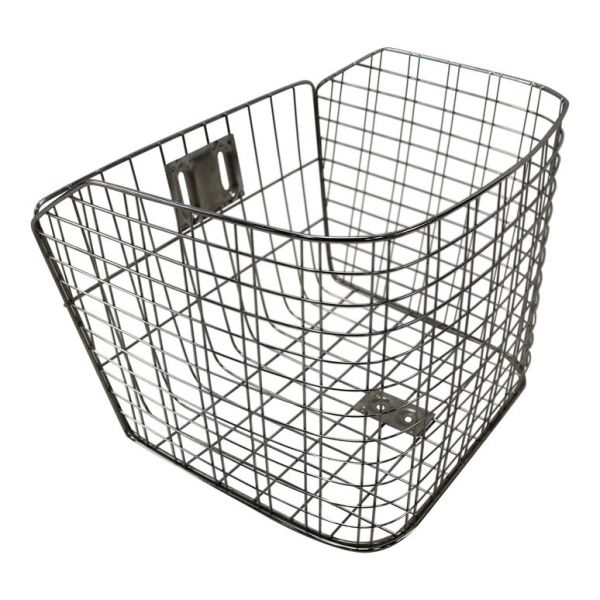 Jorvik Stainless Steel Front Tricycle Basket