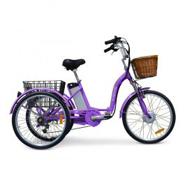 Jorvik Electric Folding Adult Tricycle