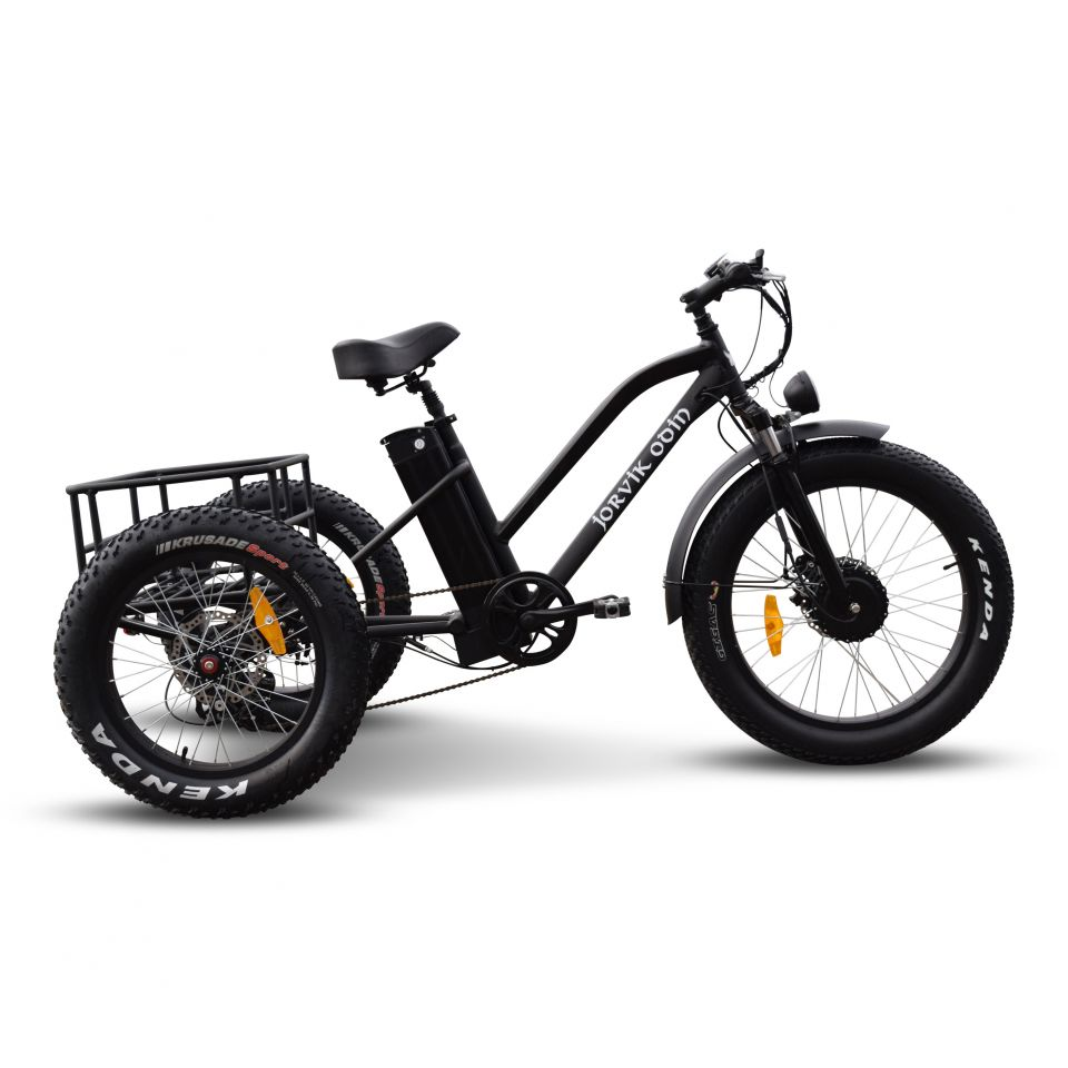 Jorvik Odin (Off Road) Electric Mountain Trike 500W 48v | Jorvik